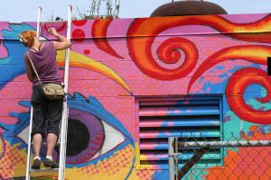 Bartlett Yard Street Art- LizM