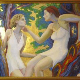 LizM: Nereids painting