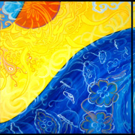 Oceans triptych