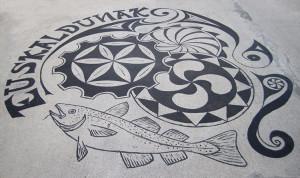 LizM @ HarborArts: Basque dock tattoo