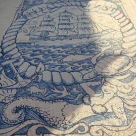 LizM Dock Tattoo at Harbor Arts: New England Sailors