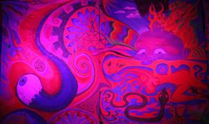 LizM: Burning Man series- red