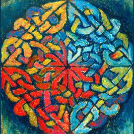 Liz LaManche- Celtic Knot Study