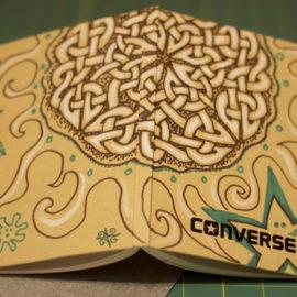 Converse Notebook Art