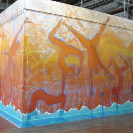 Esh Circus Arts Handstand Wall Mural