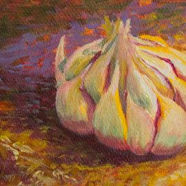 Garlic bulb by Liz LaManche