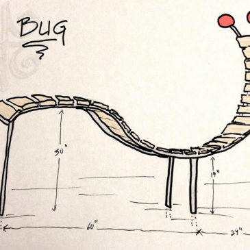 Street Furniture Proposals: Bug Bench