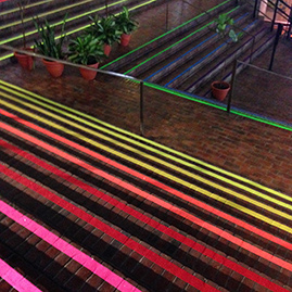Stairs of Fabulousness by Liz LaManche in Boston City Hall