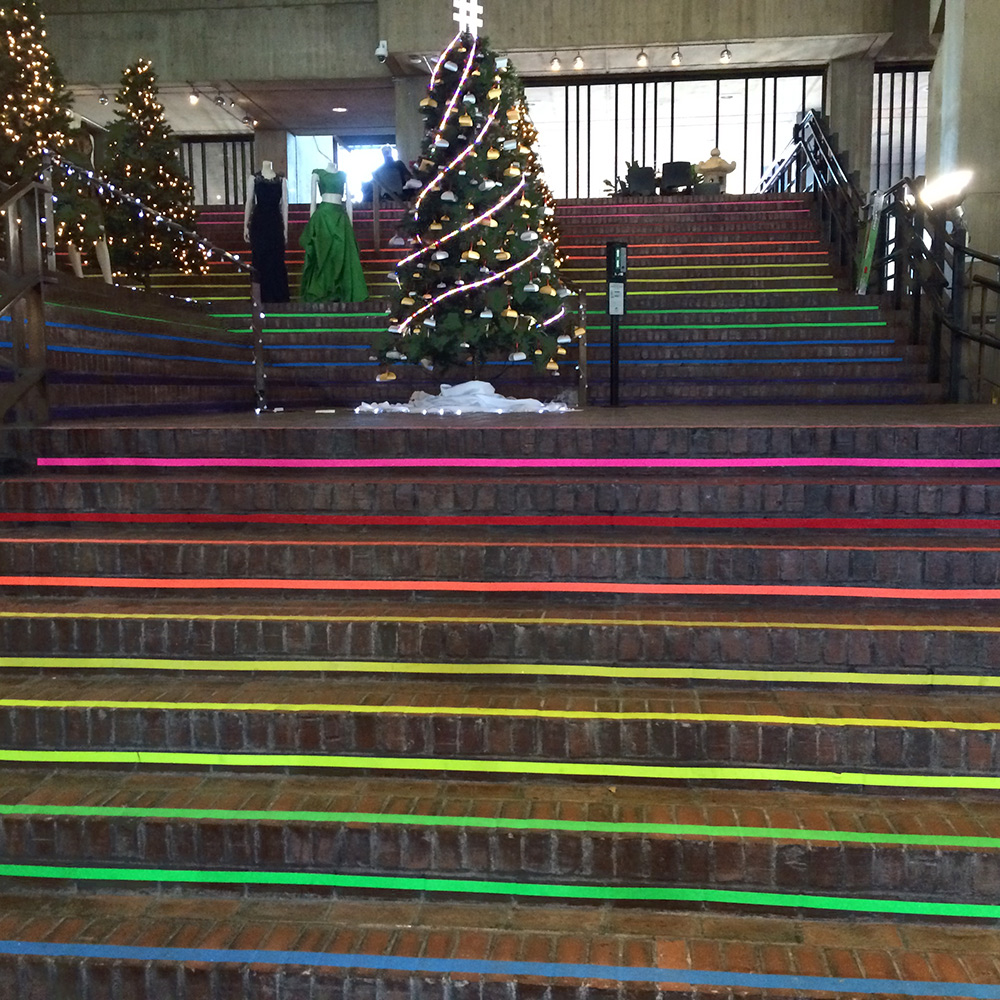 Stairs of Fabulousness Christmas