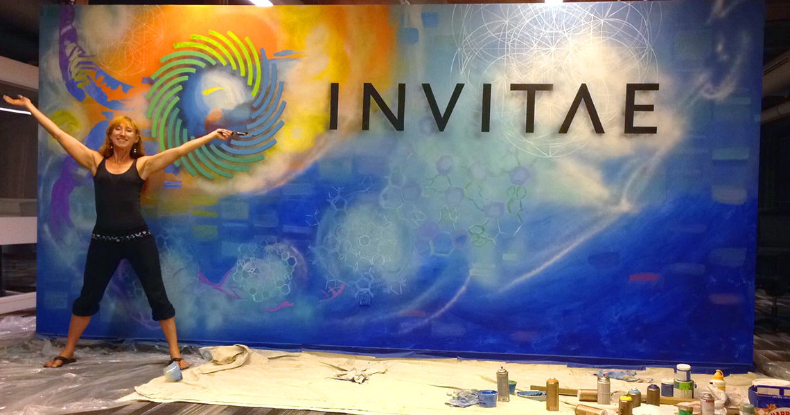 Invitae Mural Completion
