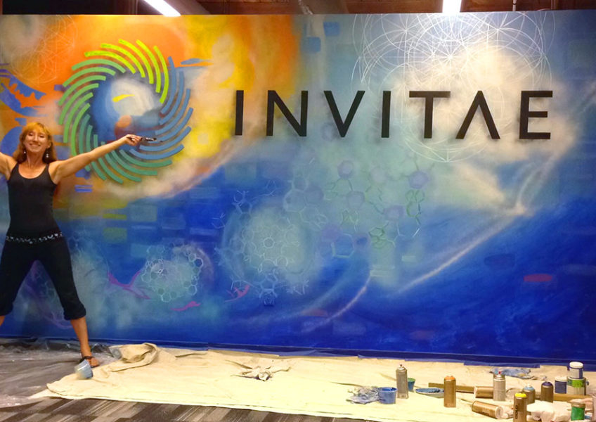 Invitae Mural Completion