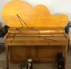 LaManche Street Piano addition