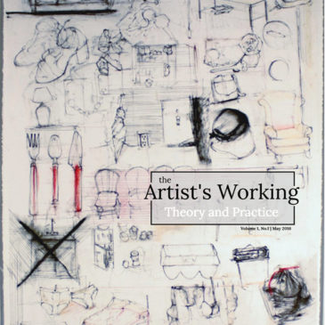 "I wrote an article on ""Connected By Sea"" in ""The Artists' Working"" magazine"