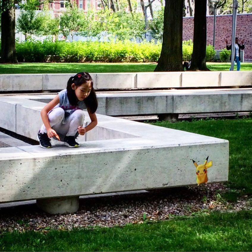 Pokemon Go hack at MIT & Davis Sq