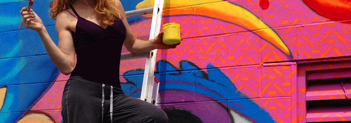 Liz LaManche public art
