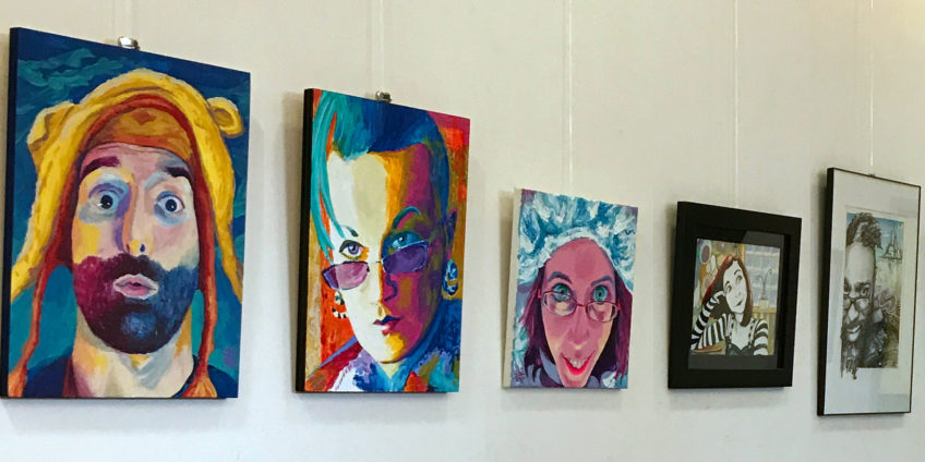 "Portrait show: ""New Heroes"" at Somerville Media Center in June"