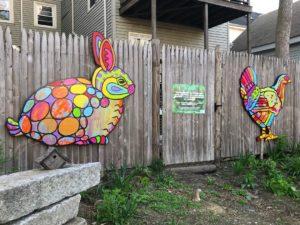 LizLaManche-Urban Wildlife, Quincy St Open Space