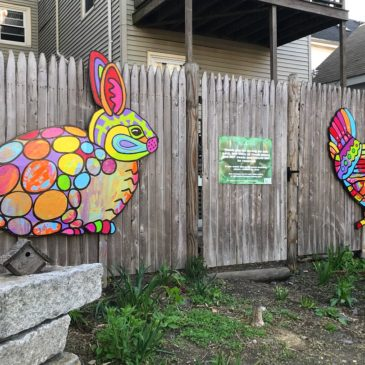 LizLaManche-Urban Wildlife, Quincy St Open Space