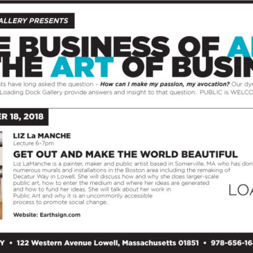 Loading Dock Arts- talk-poster