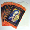 """""""Madonna and Bear"""" card, pack of 8, with envelopes"""