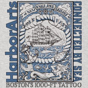 New England Sailor tattoo t-shirt design