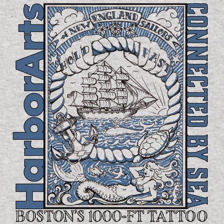 New England Sailor tattoo t-shirt design